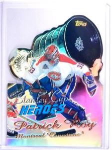 1999-00 Topps Stanley Cup Heroes Refractor Patrick Roy #SC9 *64484