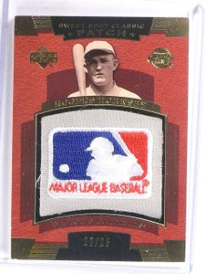 2004 UD Sweet Spot Classic Rogers Hornsby MLB Logo Patch #D22/25 #SSPRH *59297