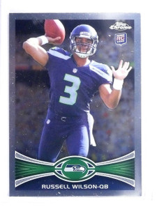 2012 Topps Chrome Russell Wilson Rookie RC #40 *64503