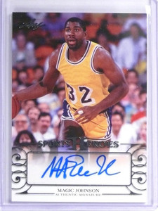 2016 Leaf Sports Heroes Magic Johnson autograph auto #BA-MJ1 *55854