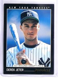 1993 Pinnacle Derek Jeter Rookie RC #457 Yankees *58086