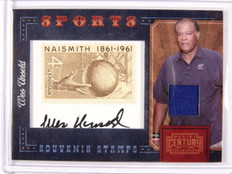 2010 Panini Century Collection Wes Unseld auto jersey stamp #D09/10 *30647