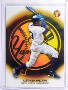 2005 Topps Pristine Gold Refractor Alfonso Soriano #D07/70 #39 *57915