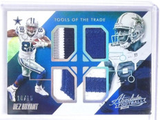 2014 Absolute Tools of the Trade Dez Bryant Quad Patch #D10/15 #TTDB *60491