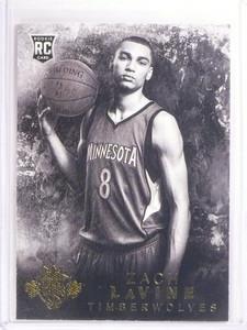 2014-15 Panini Court Kings Zach LaVine rc rookie #D48/49 #211 *53795