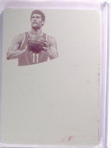 2014-15 Immaculate Collection Brook Lopez magenta printing plate #d 1/1 *53690