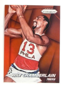 2014-15 Panini Prizm Wilt Chamberlain Prizms Red #D14/49 #220 *52819