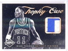 2011-12 Limited Isiah Thomas Trophy Case Jersey Patch #D08/25 #19 *55642