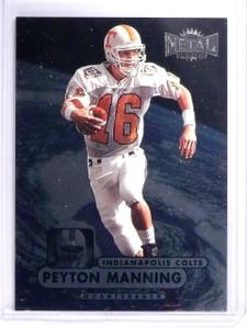 1998 Metal Universe Peyton Manning Rookie RC #189 *64370