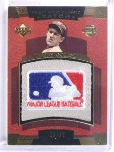 2004 UD Sweet Spot Classic Lefty Gomez MLB Logo Patch #D15/25 #SSPLG *59423