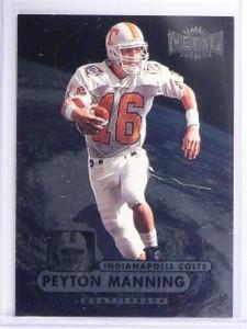 1998 Metal Universe Peyton Manning Rookie RC #189 *64238