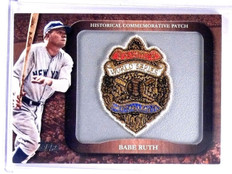 2009 Topps Historical Commemorative Patch 1927 WS Babe Ruth #LPR2 *63650