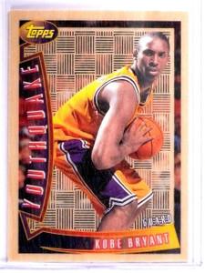 1996-97 Topps Youthquake Kobe Bryant Rookie RC #YQ15 *64276