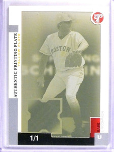 2005 Topps Pristine Yellow Printing Plate Curt Schilling #D1/1 #148 *61683