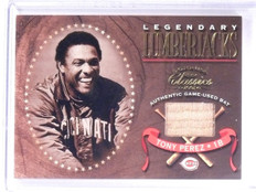 2001 Donruss Classics Legendary Lumberjacks Tony Perez Bat #LL25 *61942