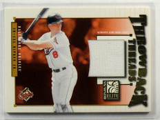 2002 Donruss Elite Throwback Threads Cal Ripken Jr. jersey #D20/100 #TT-48 *4117