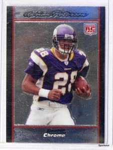 2007 Bowman Chrome Adrian Peterson rc rookie #BC65 *42760
