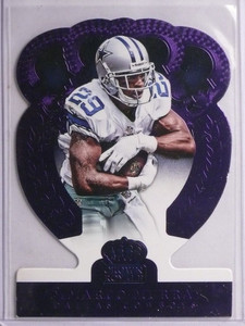 2014 Panini Crown Royale Purple Demarco Murray #D08/10 #10 *55737