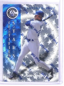 1997 Pinnacle Totally Certified Platinum Blue Ken Griffey #D1872/1999 #136 *6174