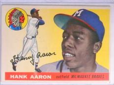 1955 Topps Hank Aaron #47 VG *67660
