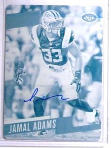 2017 Panini Prestige Jamal Adams Printing Plate autograph rc #D 1/1 *67677
