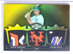 2007 Topps Triple Threads Gold David Wright 4clr patch #D7/9 #TTR20 *67705