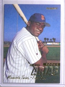 1997 Fleer David Ortiz rc rookie #512 Red Sox *67707
