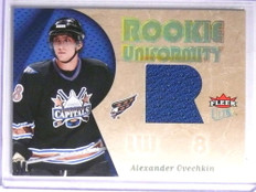 2005-06 Fleer Ultra Rookie Uniformity Alexander Ovechkin jersey rc #RU-AO *67785