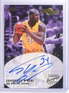 2001-02 Topps Stadium Club Lone Star Sigs Shaquille O'neal autograph auto *68071