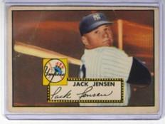 1952 Topps Jack Jensen #122 VG *32238