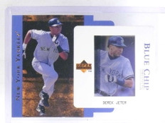 1997 Upper Deck Blue Chip Prospects Derek Jeter #D401/500 #BC2 *68087