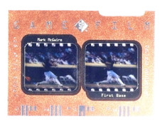 1997 Sp Game Film Mark Mcgwire #D42/500 #GF7 *68176