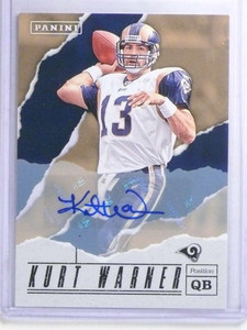 2017 Panini Father's Day Kurt Warner autograph auto #KW sp/25 *68188