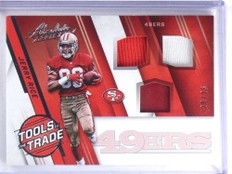 2016 Panini Absolute Tools OF The Trade Jerry Rice jersey helmet #D20/25 *68208