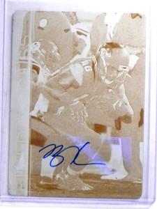 2015 Topps Field Access Ben Koyack autograph Printing Plate #D 1/1 *68315