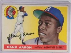 1955 Topps Hank Aaron #47 VG *68359