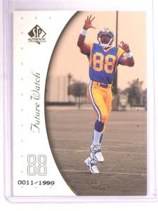 1999 Sp Authentic Torry Holt rc rookie #D11/1999 #96 *68417