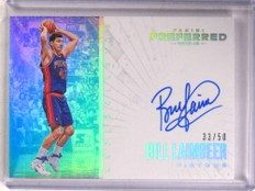 2015-16 Panini Preferred Unparalleled Bill Laimbeer autograph auto #/50 *68427