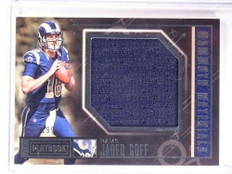 2016 Panini Playbook Mammoth Materials Jared Goff rookie jersey #D/199  *68481