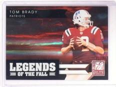2011 Donruss Elite Legends Of The Fall Tom Brady #d01/99 #24 *68549