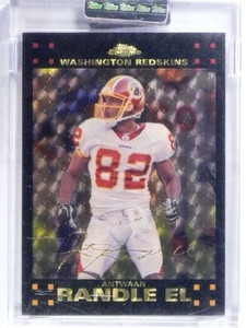 2007 Topps Chrome Antwaan Randle El Superfractor #D 1/1 *68635