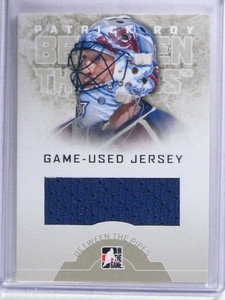 2008-09 ITG Between The Pipes Patrick Roy jersey #GUJ-34 sp/30! *68648