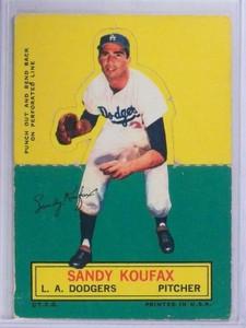 1964 Topps Stand-ups Sandy Koufax VG *68663