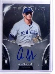 2013 Bowman Sterling Aaron Judge autograph auto rc rookie #BSAP-AJ *68838