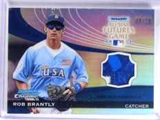 2012 Bowman Chrome Futures Game All-Star Rob Brantly 2clr patch #D08/10 *68875