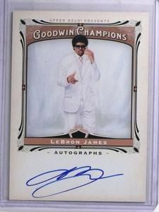 2013 Upper Deck Goodwin Champions Lebron James autograph auto #A-LJ *68833