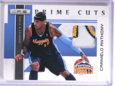 2010-11 Rookies Stars prime Cuts Carmelo Athony 3 color patch #D05/50 *68943