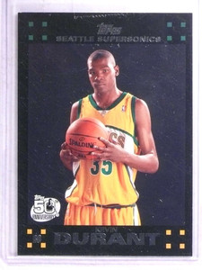 2007-08 Topps Kevin Durant rc rookie #112 *68931