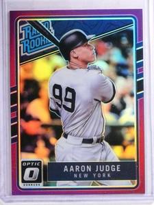 2017 Donruss Optic Purple Prizm Aaron Judge rc rookie #38 *68993