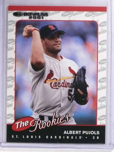 2001 Donruss Albert Pujols rc rookie #R97 *69062